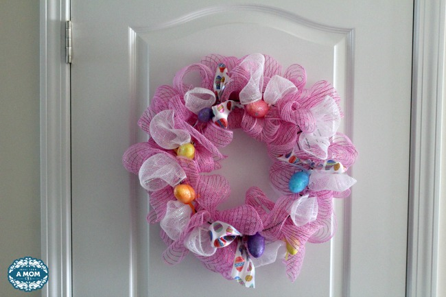 Budget Friendly Dollar Tree Easter Wreath DIY