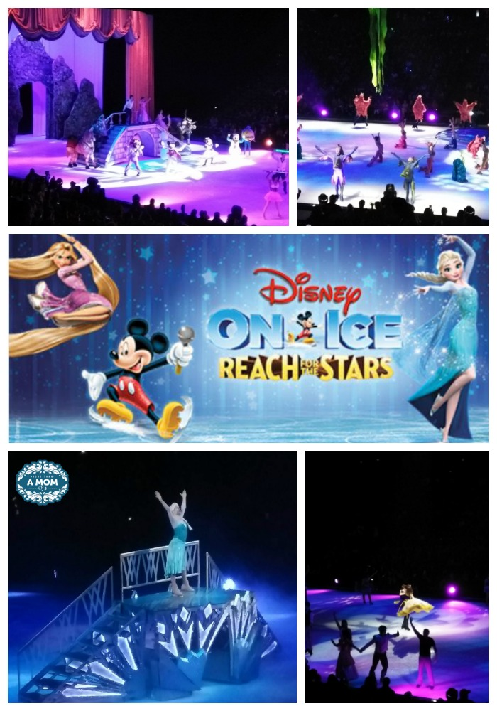 Disney On Ice Reach For The Stars performance rocked!