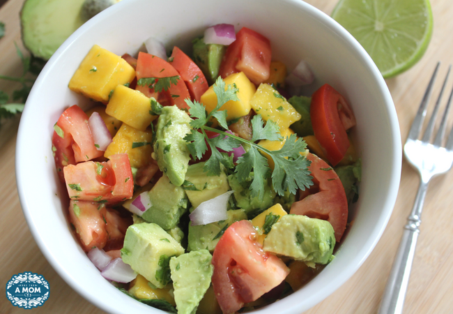 Refreshing Summer Healthy Mango Avocado Salad
