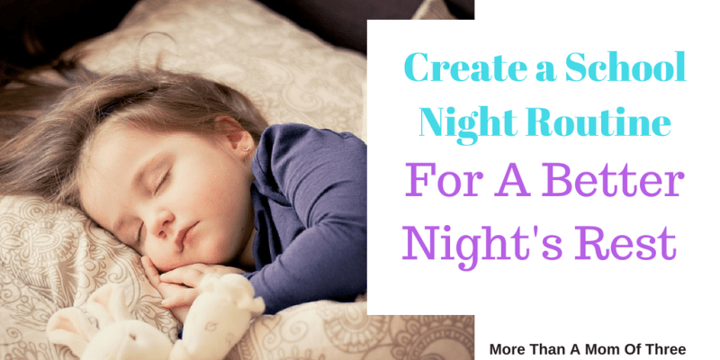 How To Create A School Night Routine That Works