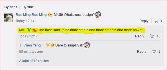 MIUI 9 : Entwicklung bestätigt, Release weiterhin ungewiss