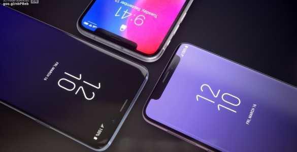 Galaxy S9 N: Der einzige gelungene iPhone X-Klon bleibt Konzept-Studie