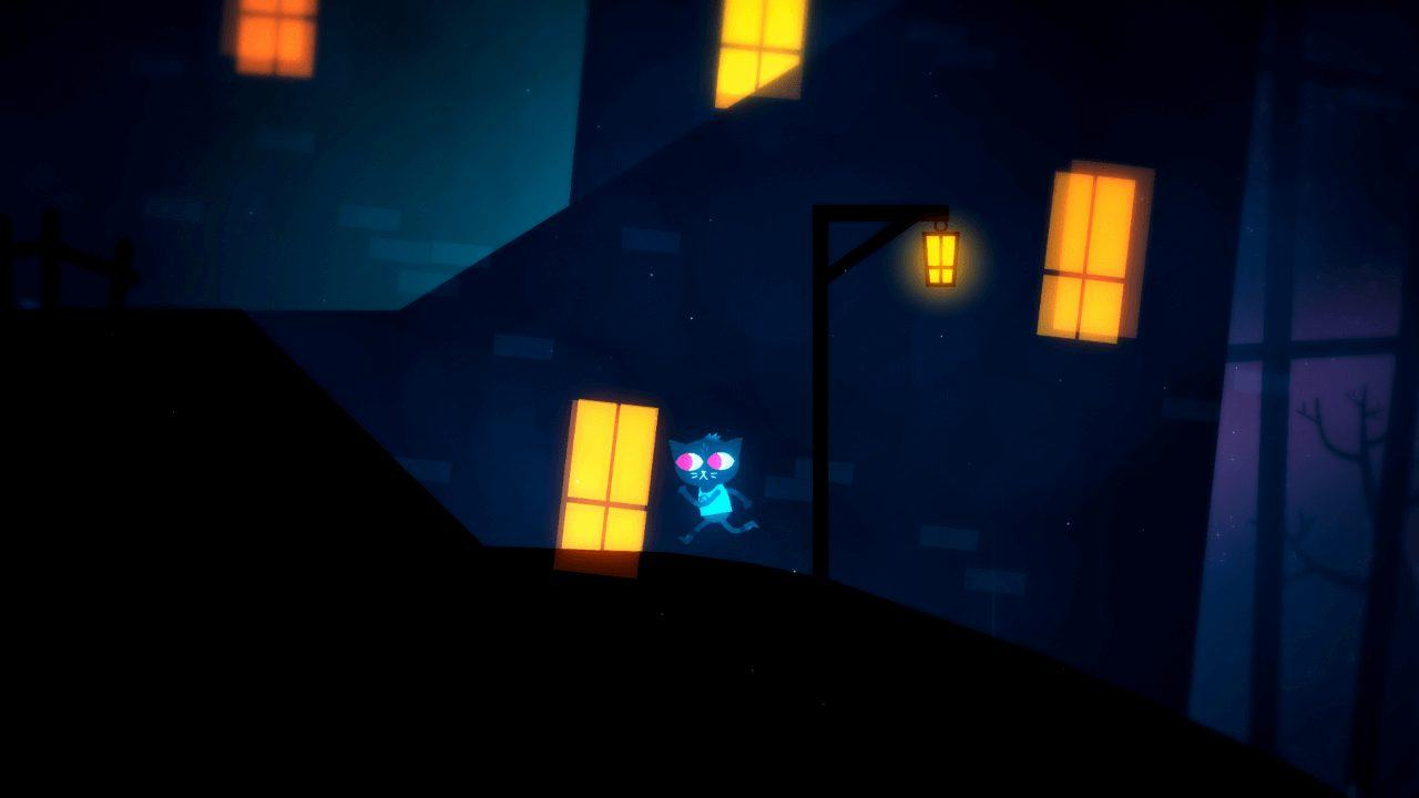 Night in The Woods Nachts