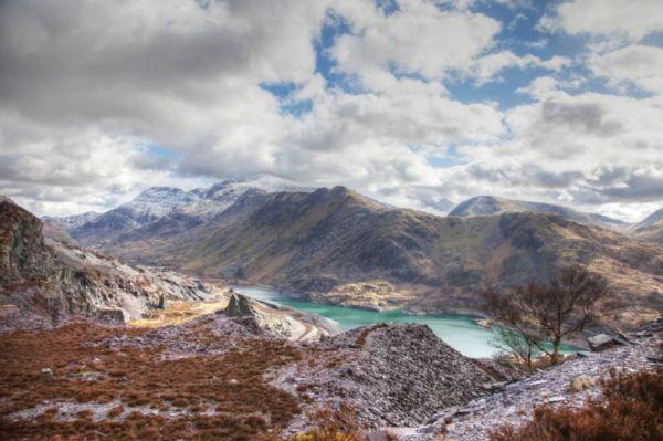 wales landscape - aston series