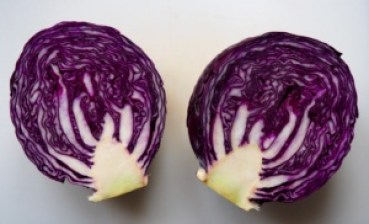 Red Cabbage with apples from More Than Just Carrots