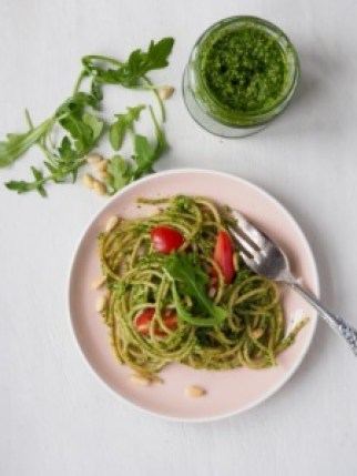 Rucola Pesto from More Than Just Carrots