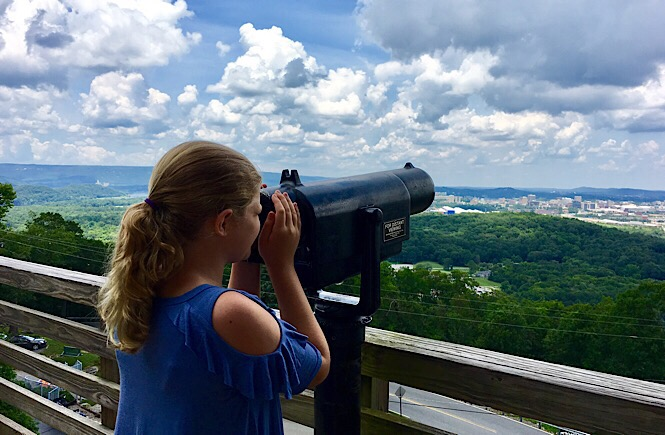 Lookout Mountain in Chattanooga Tennessee