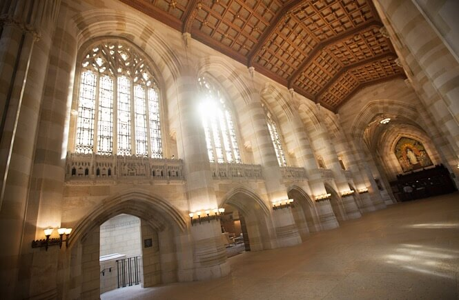 New England Road Trip Itinerary- Yale Library