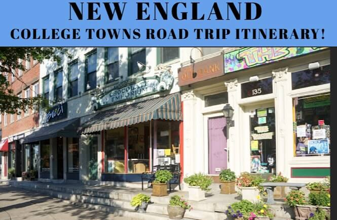 Northeast Road Trip >> A Genius New England Road Trip Itinerary College Towns More