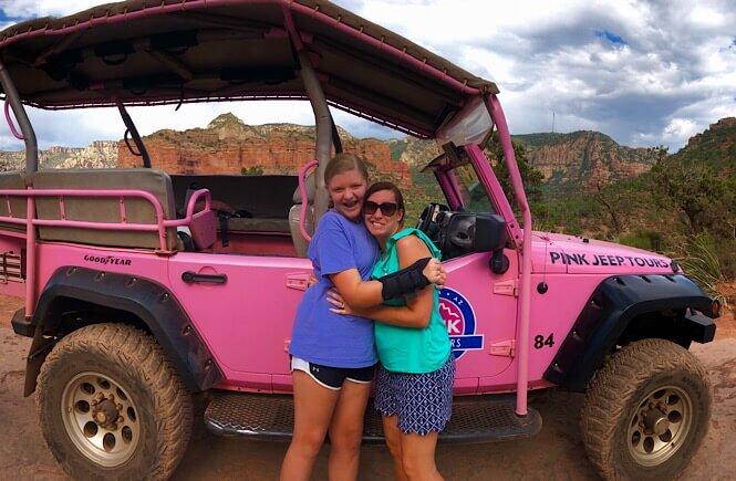 Pink Jeep tour in Sedona, Arizona!