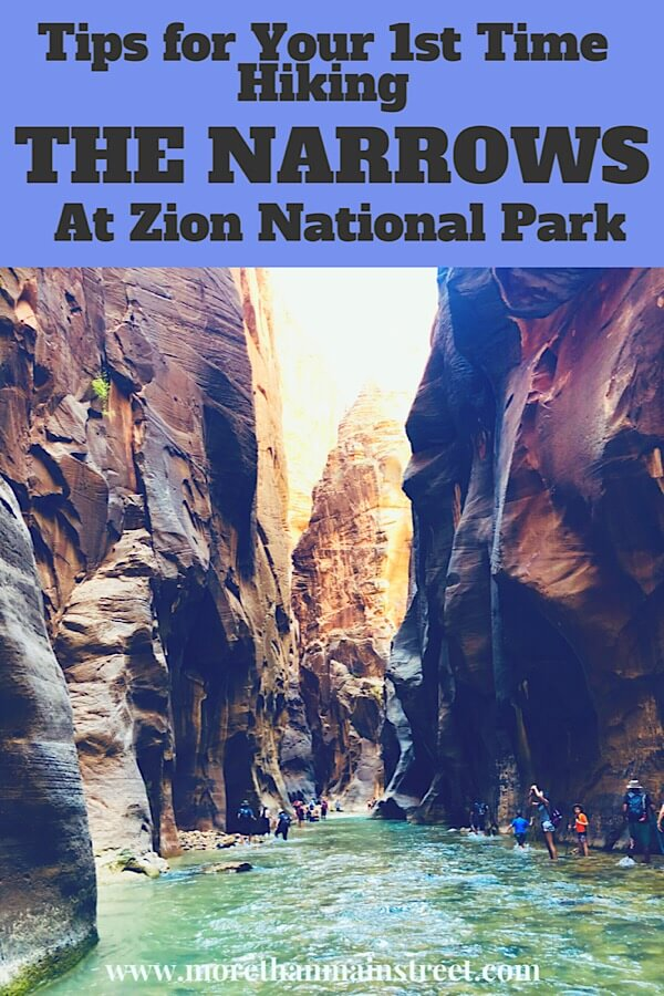 Zion Narrows Day Hike: What You REALLY Need to Know Before You Go as featured by top US travel blog, More than Main Street.
