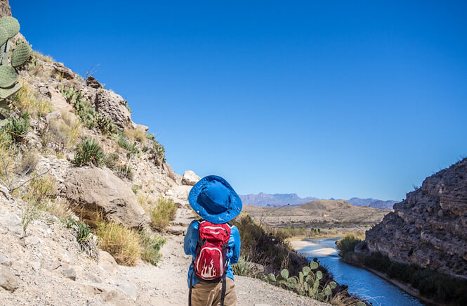 Top 15 best off the beaten path spring break destinations in the US for families featured by US family travel blog, More Than Main Street: Big Bend National Park
