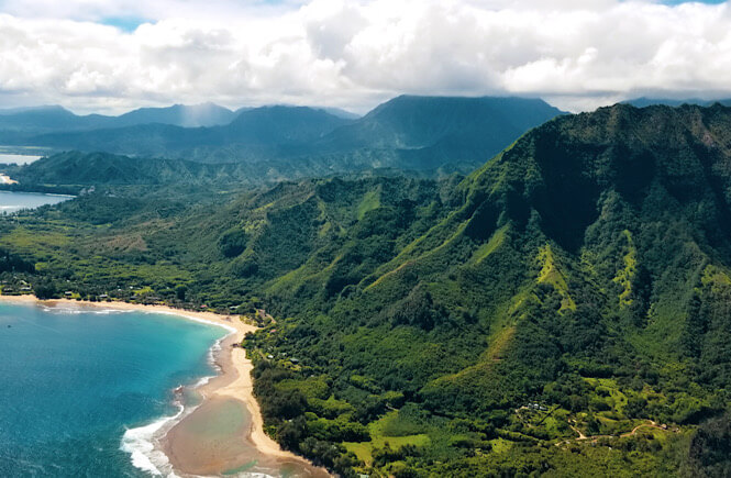 Top 15 best off the beaten path spring break destinations in the US for families featured by US family travel blog, More Than Main Street: Kauai, Hawaii.