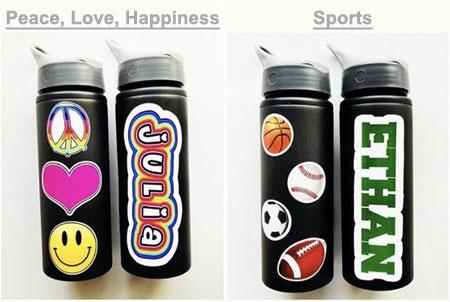 personalized sports bottles aluminum