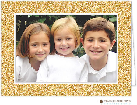 Stacy Claire Boyd Holiday Photo Cards Glitter Season