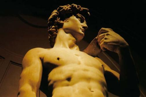 Le David de Michel-Ange à la Galleria dell'Accademia, Firenze