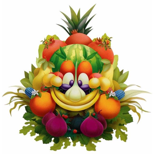 """Une image en bonne santé ! C'est la mascotte de l'Expo 2015 dessinée par Disney. Le thème de cette expo universelle qui se déroulera à Milan à partir du mois de mai 2015 est """"Nourrir la planète, énergie pour la vie !"""""""