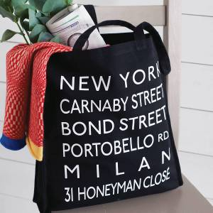 133-03-Destinations Canvas Shopper Bag