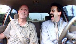 Borat driver's ed