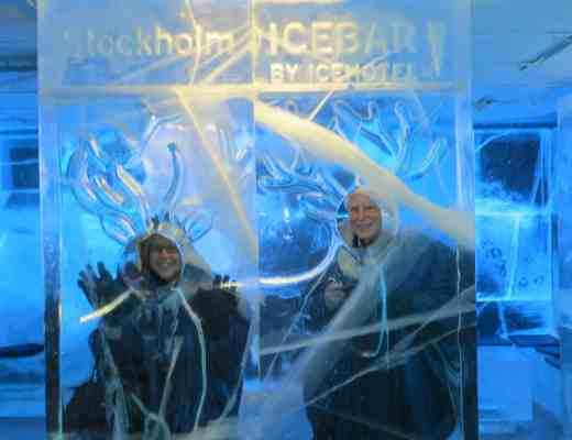 Our visit to the Stockholm Icebar
