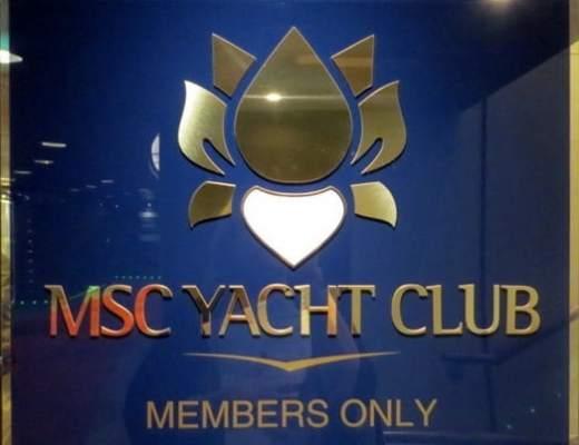 The MSC Yacht Club