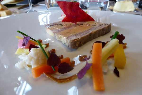 Foie Gras and Layered Duck Preserves