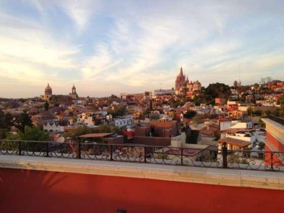 La Luna Rooftop Bar at Rosewood San Miguel de Allende