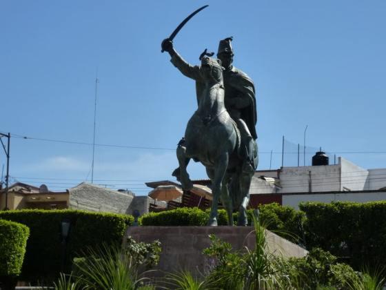 Statue of General Ignacio Allende