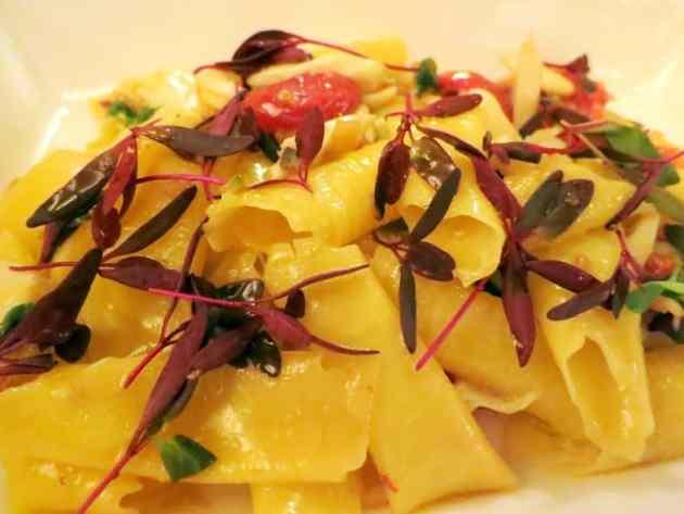Sangiovese pasta with crab