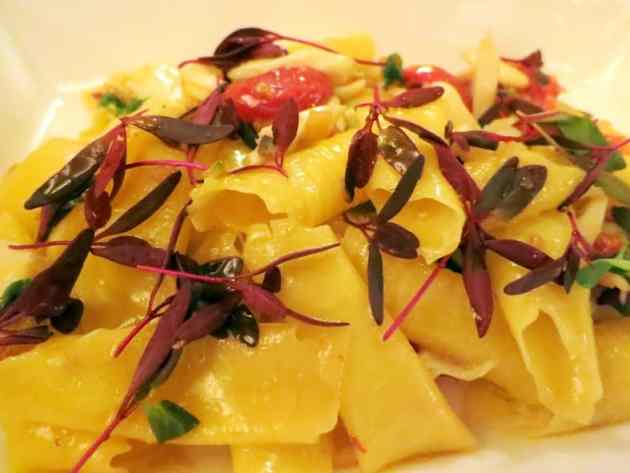 Sangiovese pasta with crab