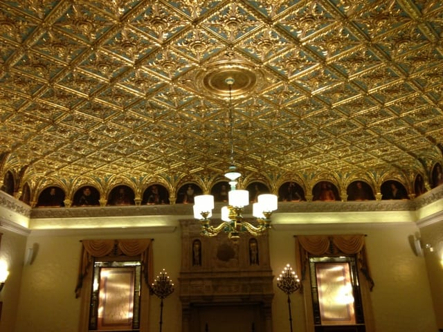 Ceiling in the Gold Room
