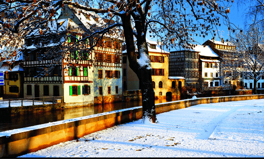 Renaissance architecture along Strasbourg's canals (Photo Credit: Grand Circle Cruise Line)