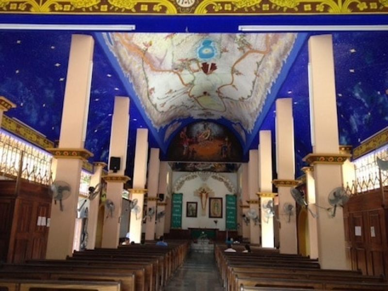 The parrish church, Parroquia de Nuestra Señora de Guadalupe