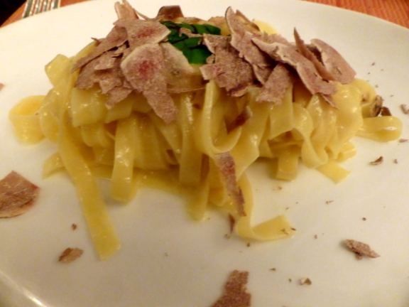 Tagliatelle with White Truffles