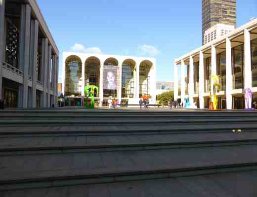 Lincoln Center's Josie Robertson Plaza