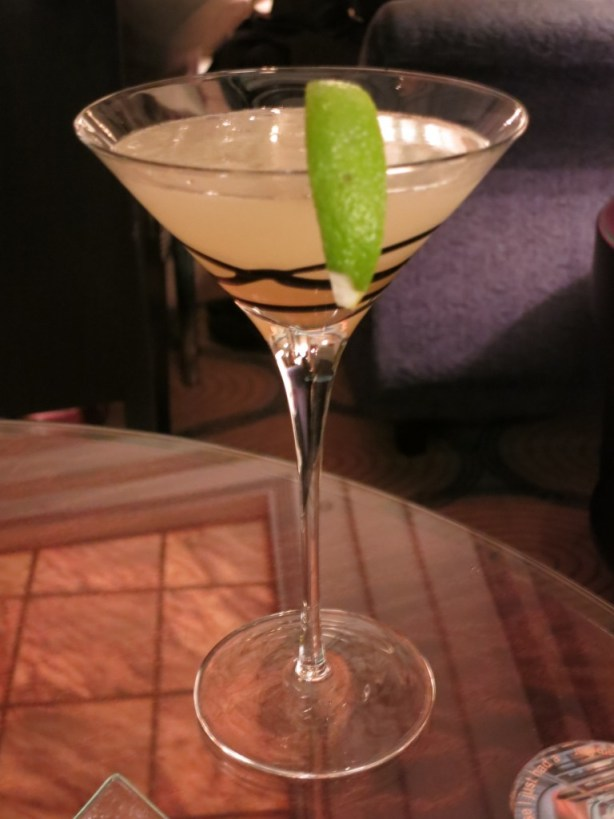 Elderflower Martini at The Four Seasons Gresham Palace