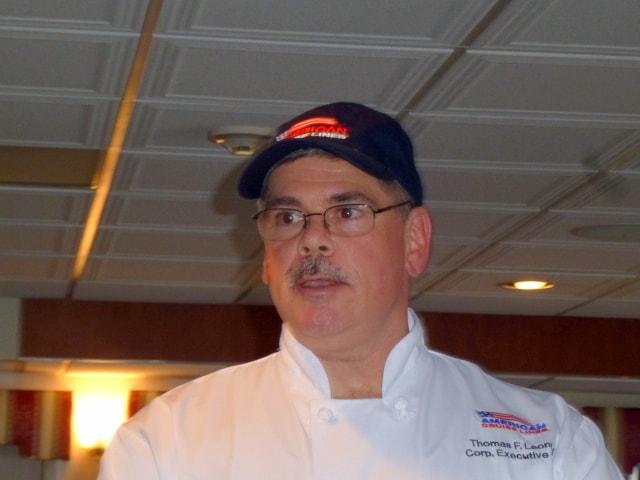 Chef Thomas Leonard