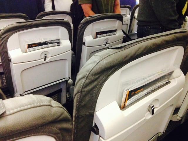 Even slimmer seats