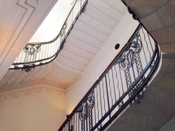 Restored stairwells