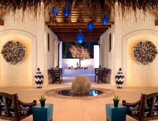 Entrance to the Spa at Las Ventanas al Paraiso