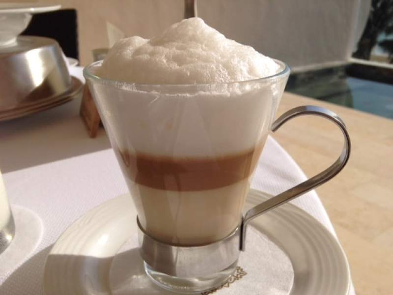 Worlds Best Breakfasts: Cappuccino is always a great way to start the day