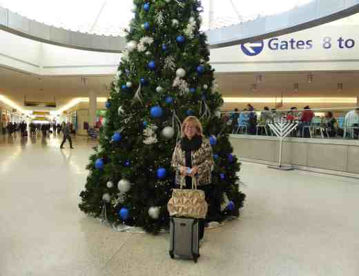 Christmas Tree at Terminal 5