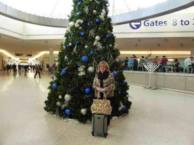 Christmas Tree at Terminal 5