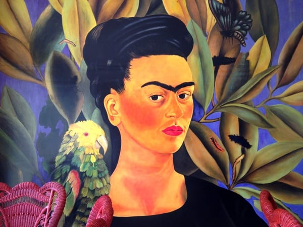 Original art at Frida