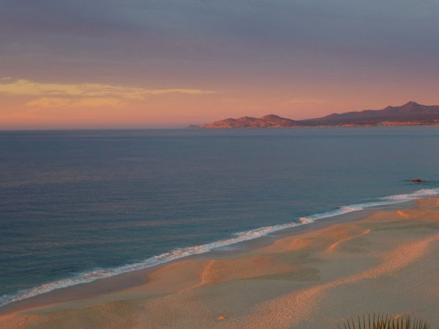 Sunrise in Los Cabos, Mexico