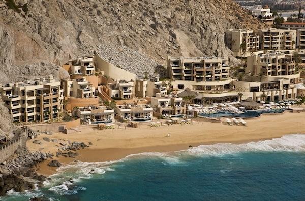 Aerial picture of the resort (Photo credit: Capella Pedregal)