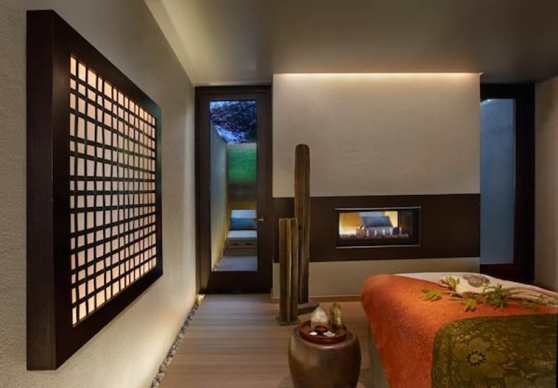 One of the spa suites (Photo credit: Miraval)