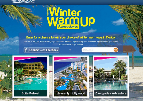 Florida Winter Warmup Sweepstakes