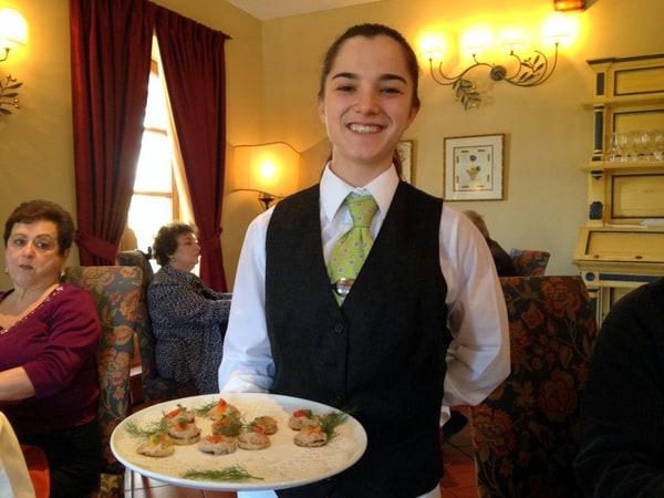 Alyssa, a 19-year-old in the Culinary Arts Program