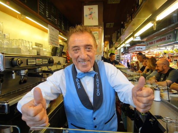 Juanito Bayan of Pinotxo Bar in Barcelona's La Boqueria